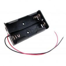 Бокс на два 18650 батареї, 7.4 В, харчування Arduino