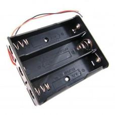Бокс на три 18650 батареї, 11.1 В, харчування Arduino
