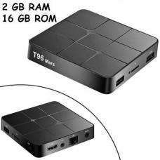 Медіаплеєр Android 9.0 Smart TV Box Amlogic S905W 2/16ГБ T96 Mars