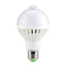 Лампа світлодіодна з датчиком руху E27, 9Вт LED