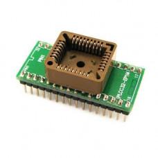 PLCC32 - DIP32 перехідник, панелька для мікросхем
