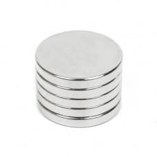 Неодимові магніти сильні 20х3мм N35 10шт