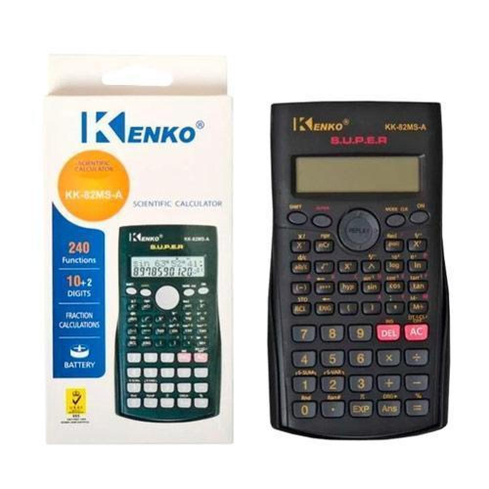 Кишеньковий Калькулятор інженерний, 240 функцій, 10-розрядний, KK-82MS-A
