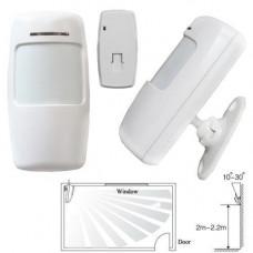 Датчик руху ІЧ PIR бездротовий 433МГц для GSM сигналізації, тип B
