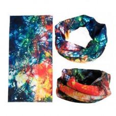Бафф бандана-трансформер, шарф з мікрофібри, осень1