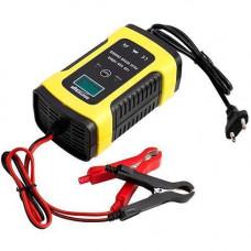 Розумний зарядний пристрій для авто акумуляторів 12В 5А РК FOXSUR FBC1205D