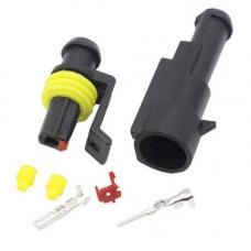 Роз'єм автомобільний електричний герметичний DJ7011-1.5 комплект 1pin