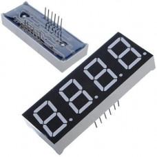 4-розрядний 7-сегментний індикатор 0.5