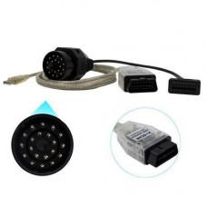 K+DCAN INPA USB сканер діагностики авто для BMW + 20pin перехідник