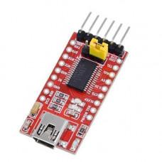 MiniUSB - UART TTL FT232RL 6 pin конвертер, Arduino