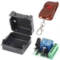 1-канальний бездротове реле 12В 433МГц, пульт, Arduino