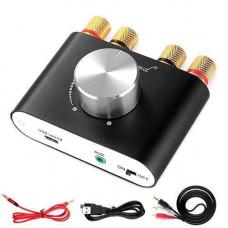 Аудіо підсилювач потужності звуку 2х50Вт Bluetooth 5.0 Nobsound NS-01G