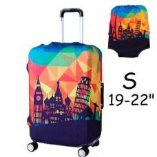 Чохол для дорожньої валізи на валізу захисний 19-22 S