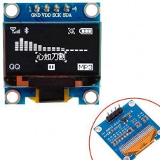 OLED дисплей графический SSD1306 I2C 4p 0.96 128x64 Arduino, белый
