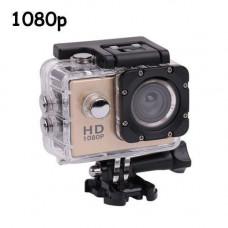Видеокамера, экшн-камера водонепроницаемая 1080p, A7 + комплект креплений