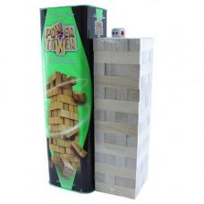 Настільна гра Дженга Вежа Jenga Power Tower Джанга PT-01 56 брусків