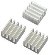10x Радіатор алюмінієвий 9х9х5мм для Raspberry PI