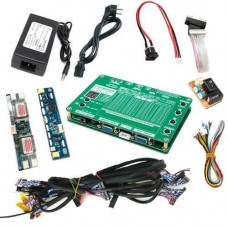 Тестер матриць LCD РК дисплеїв 7-84 LVDS VGA 60 програм T-60S + БЖ
