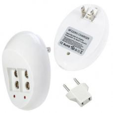 Зарядний пристрій для Крона 6F22, автоматичне, 2 каналу