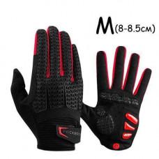 Перчатки велосипедные закрытые гелиевые М, 8-8.5см, RockBros S169-1
