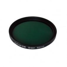Кольоровий фільтр 52мм зелений, CITIWIDE