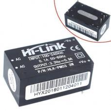 Перетворювач напруги компактний AC-DC 220В-3.3В 0.9А HLK-PM03
