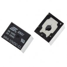 Реле електромагнітне SRA-12VDC-CL 5pin 12В 10А