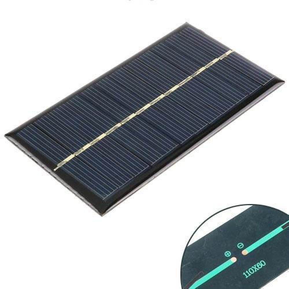 Сонячна панель батарея 6В 1Вт міні 110х60мм