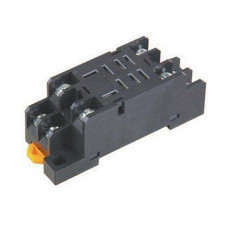Колодка панелька PTF08A кріплення реле Omron LY2 на DIN-рейку