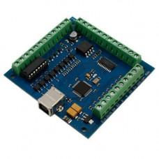 4-осьовий контролер крокових двигунів ЧПУ, 100кГц