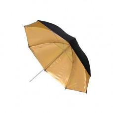 Фото парасолька 84см золотистий, 33