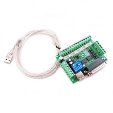 Інтерфейсна плата з оптичною розв'язкою на 5 осей ЧПУ