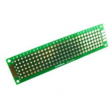 PCB 2x8 см двостороння друкована плата