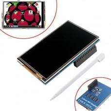 LCD TFT 3.5 дисплей 320x480 тачскрін для Raspberry Pi 2B 3B 3B+