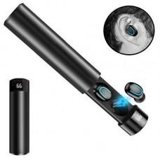 Бездротові навушники гарнітура з Power Bank HBQ-67 TWS Bluetooth 5.0 EDR