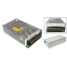 Блок живлення перфорований 12В 10А 120Вт, 2-кан для LED-стрічок CCTV