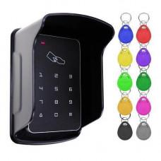 Система контролю доступу СКД панель RFID з клавіатурою 5Y0A B09 + 10 брелків