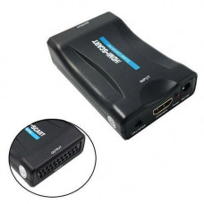 HDMI - SCART адаптер, конвертер видео, аудио, до 1080p, 60fps