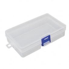 Коробка органайзер кейс для снастей бісеру 146х85х35мм без клітинок