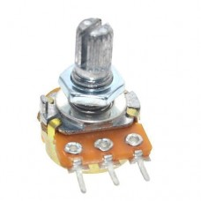 Резистор змінний, потенціометр WH148 B5K лінійний 15мм 5кОм