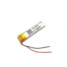 Акумулятор 601240 Li-pol 3.7 В 300мАч для RC моделей MP3 Bluetooth гарнітур