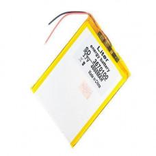 Акумулятор 3570100 Li-pol 3.7 В 4000мАч для Powerbank, планшетів, GPS