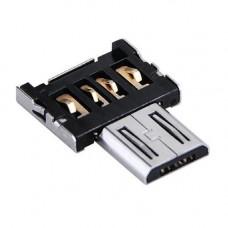 OTG перехідник адаптер USB мама - MicroUSB тато для Android