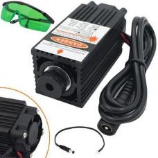 Потужний лазер для різання гравіювання 2.5 Вт 450нм + захисні окуляри
