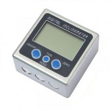 Кутомір електронний магнітний, рівень, транспортир, інклінометр
