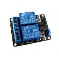 2-канальний модуль реле 5V для Arduino PIC ARM AVR