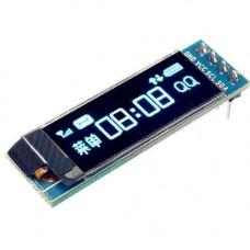 OLED дисплей графічний SSD1306 I2C 0.91 128x32 Arduino AVR STM32