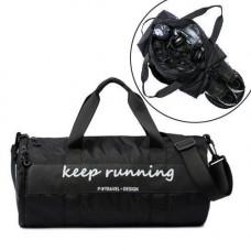 Спортивна Сумка для тренувань спортзалу бочонок сумка-тубус, кольору