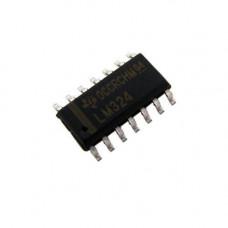 Чіп LM324DR LM324 SO14, Операційний підсилювач 4-канальний