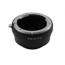 Адаптер адаптер Nikon AI - Pentax Q (PQ) кільце Ulata
